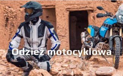 Ubiór i dodatki na motocykl